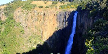 Howick Falls Height