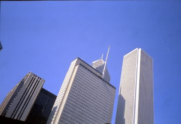 Aon Center Height