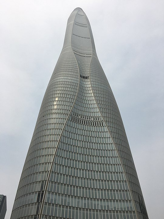 Tianjin CTF Finance Centre Height
