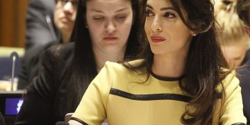 Amal Clooney Height