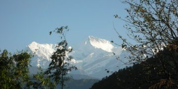 Annapurna II Height
