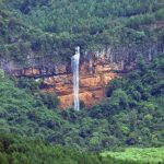 Bridal Veil Falls Height (Sabie)