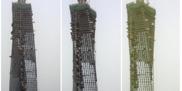Cayan Tower Height