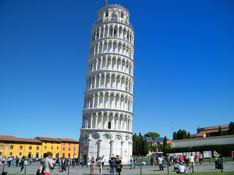 Leaning Tower of Pisa Height